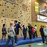 Sportaktivitäten am Tag der offenen Tür